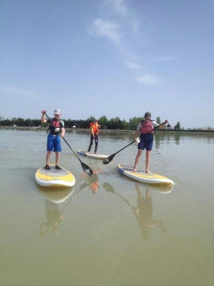 Je fais de la voile du kayak du paddle club nautique - Horaire piscine rochefort ...
